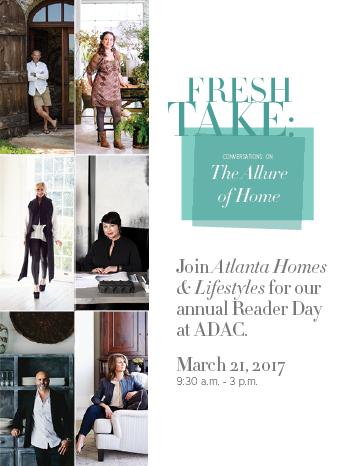 Promo Image for Atlanta Homes & Lifestyles' Reader Day at ADAC