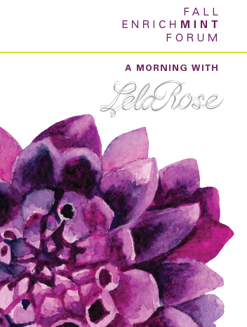 Promo Image for Fall EnrichMINT Forum: A Morning with Lela Rose